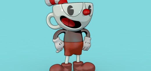 Cuphead Sketch Style