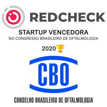 REDCHECK VENCEDORA NO CONGRESSO BRASILEIRO DE OFTALMOLOGIA 2020