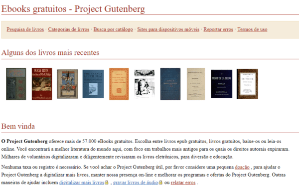 Site Project Gutenberg