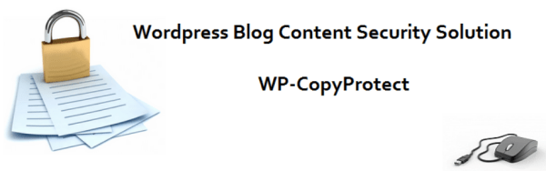 Plugin WP-CopyProtect