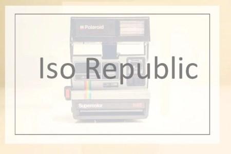 Site Iso Republic - Banco de imagens gratuito