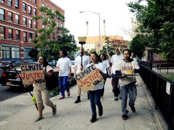 Mini Climate March, Lower East Side, Fall 2014
