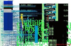 """Web de Ciberp@is deconstruida en 1998 por """"The Shredder"""" de Mark Napier"""