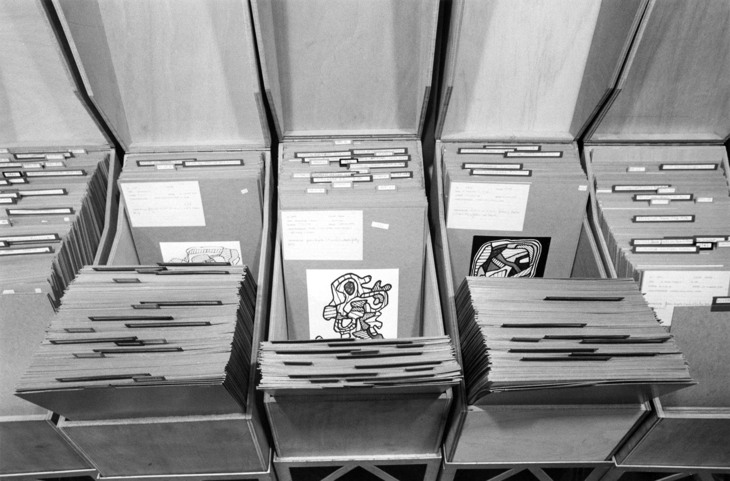 Kurt Wyss, Le Grand fichier, secrétariat de la rue de Verneuil, Paris, 2 octobre 1970 © Kurt Wyss_Bale.jpg