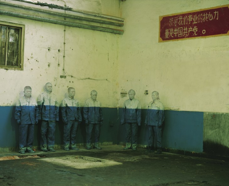 Liu Bolin_The Laid Off Workers_Hiding in the City_2006 © Liu Bolin_Courtesy Galerie Paris-Beijing.jpg