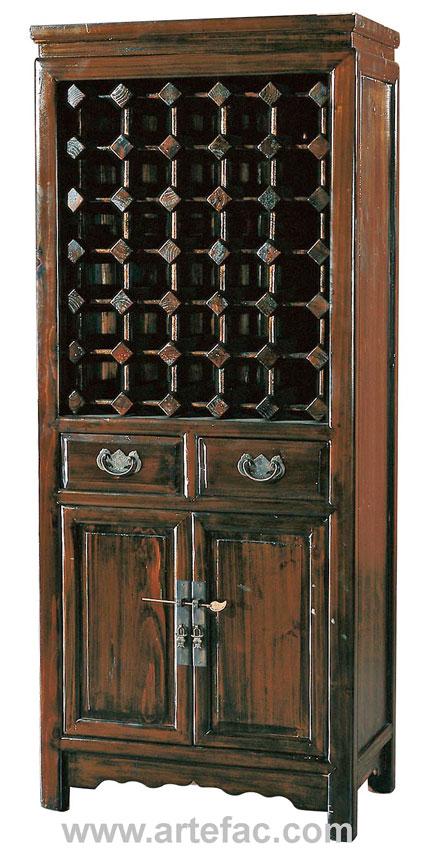 BR20140 Antique Wine Cabinet