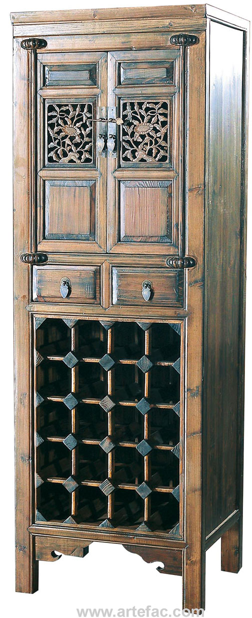 restaurant dining chairs canada hanging basket br-20502 antique wine cabinet