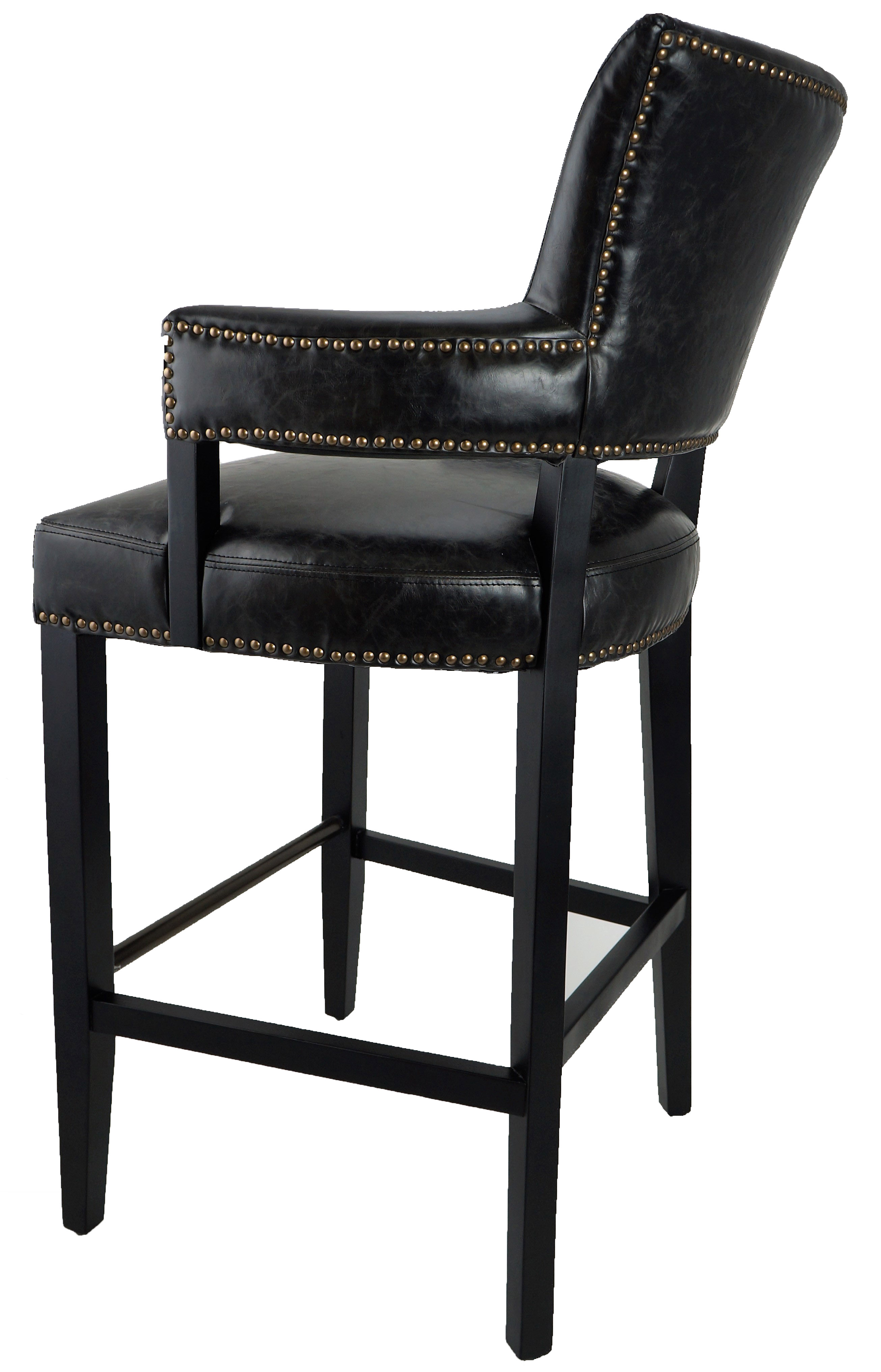 high bar stool chairs hickory chair fabrics stools & kitchen counter :: (on sale!) rv-4334 majestic looking n ...