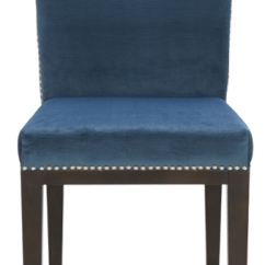 Unique Leather Office Chairs Chair Cover Hire Terms And Conditions Parson, Dining Room & Kitchen :: Sr-101232 Fabric W/silver Nail Head - Blue ...