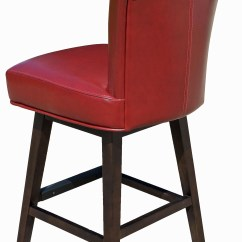 Stool Chair Red King Tuts Leather Bar Stools Catifa 46 Hocker Arper