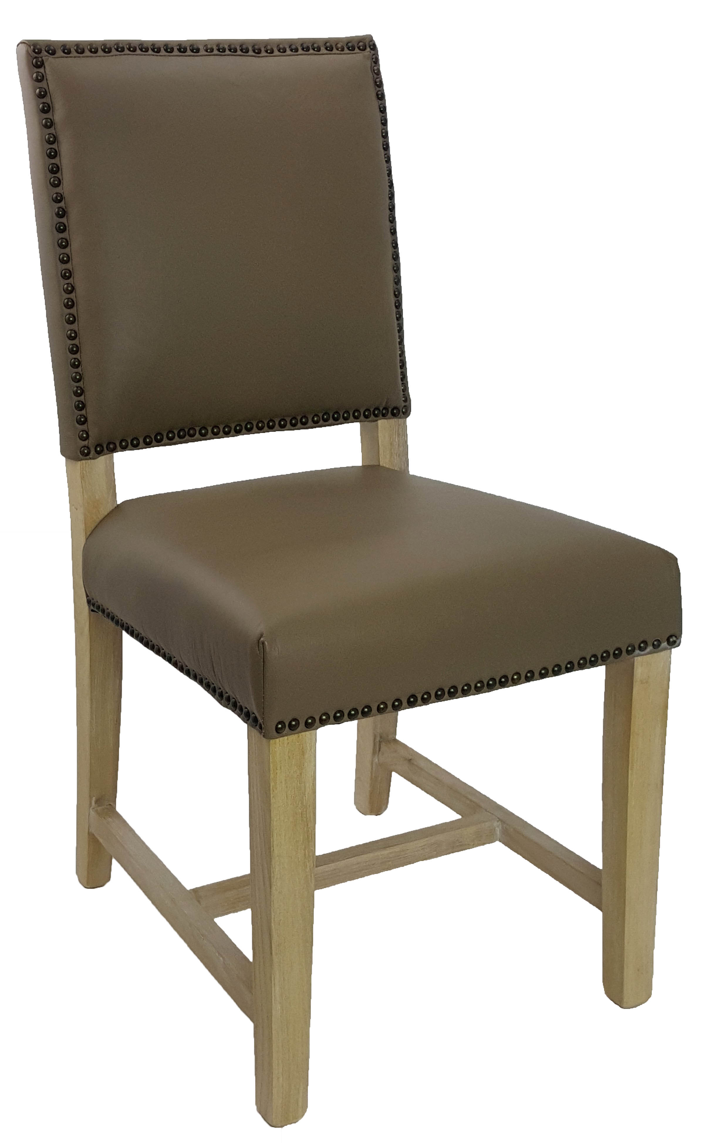 Leather Parson Dining Room  Kitchen Chairs  Leather