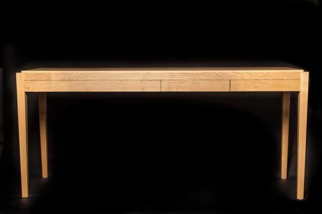 Ash Console Bar 3 drawer