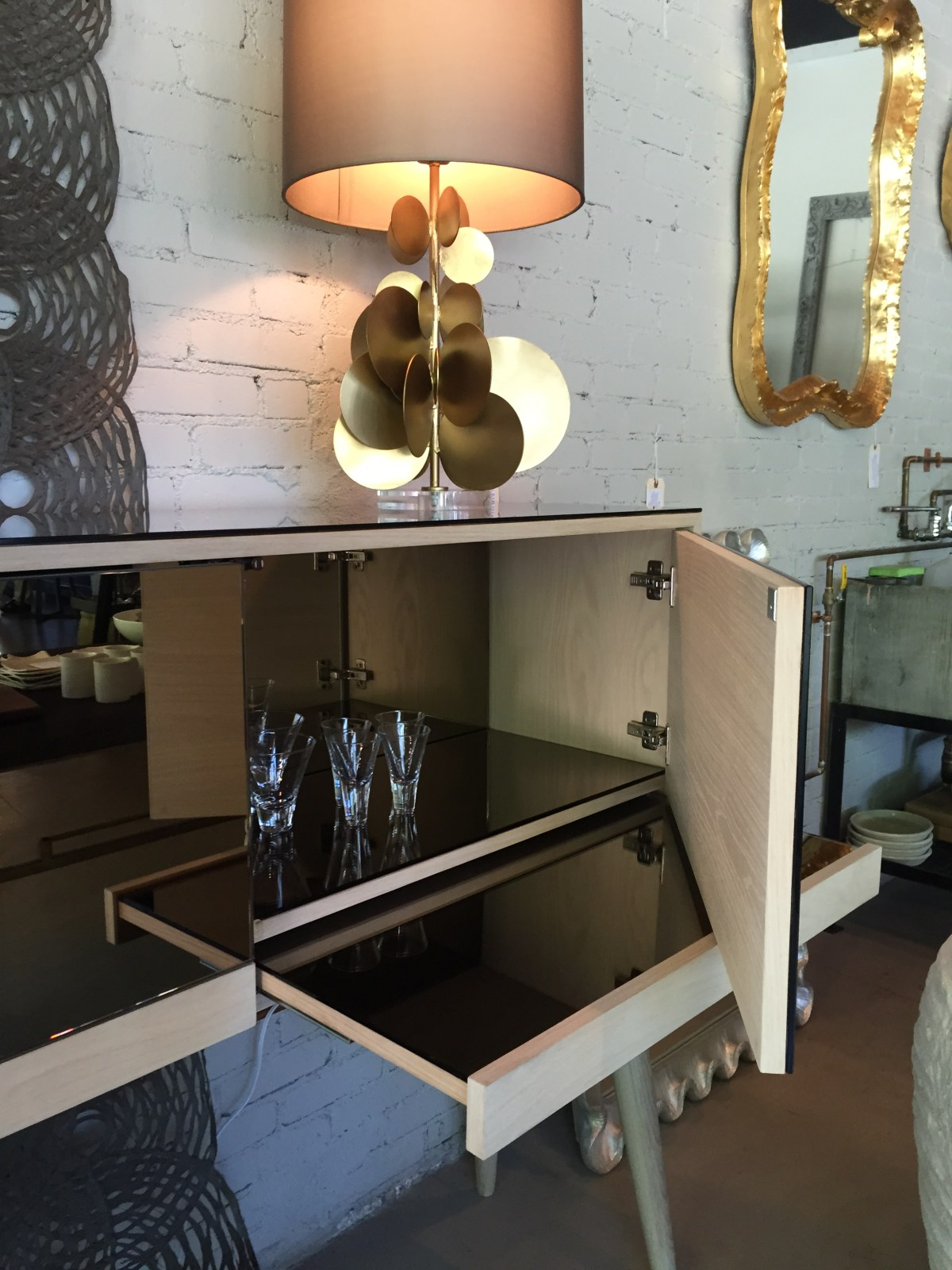 bronze-bar-mirror-drawers