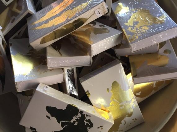 golden match boxes