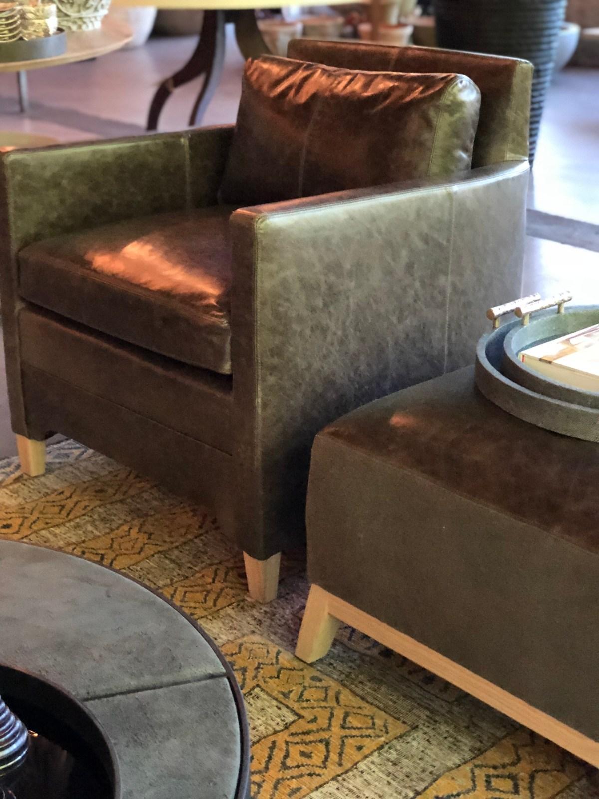 jean-chair + ottoman-crystal leather-verellen@artefacthome