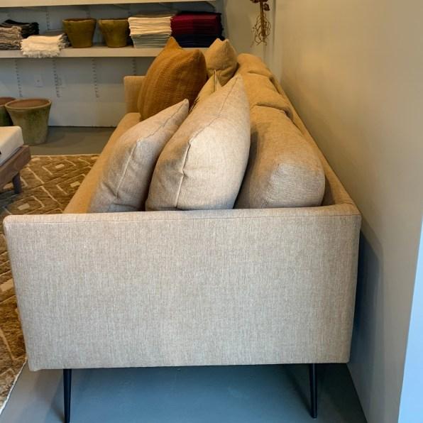 terrence-condo sofa-uph desert linen-side-artefact