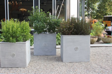 florentine squares - these are planters for all seasons