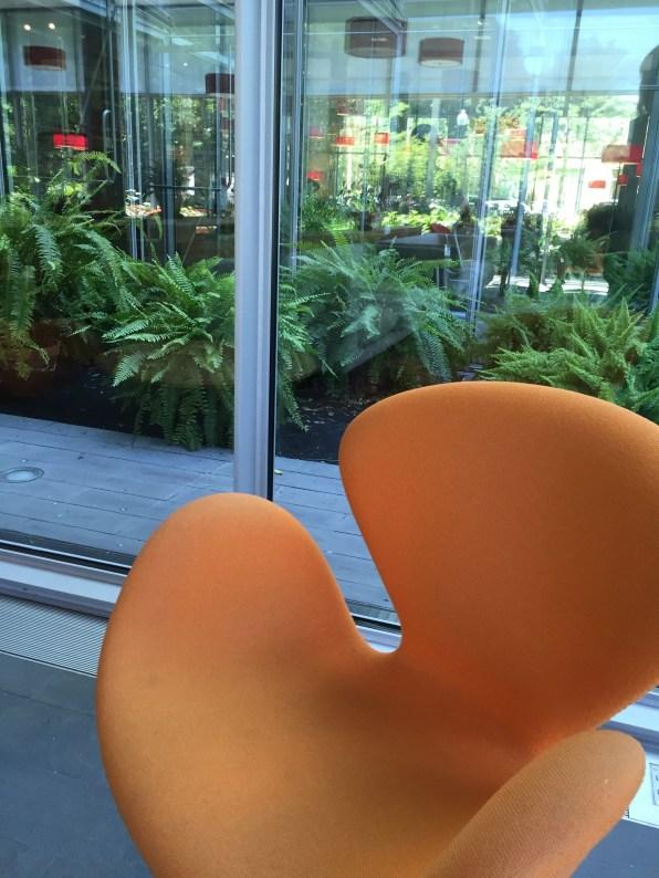 richard-floor-living-room-orange-chair-isabella-stewart-gardner