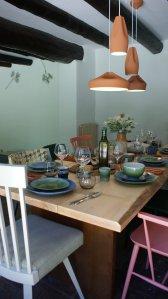 Comedor proyecto de interiorismo Artefactum Masía
