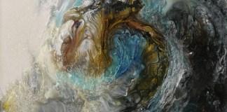 pintura olas mar