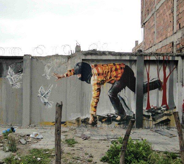 El arte callejero de Fintan Magee 3