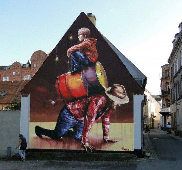El arte callejero de Fintan Magee 5