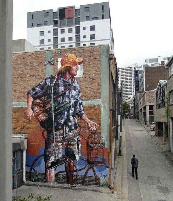 El arte callejero de Fintan Magee 6
