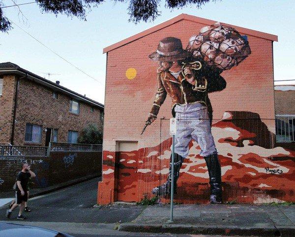 El arte callejero de Fintan Magee 7