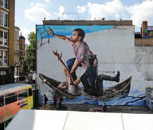 El arte callejero de Fintan Magee 9