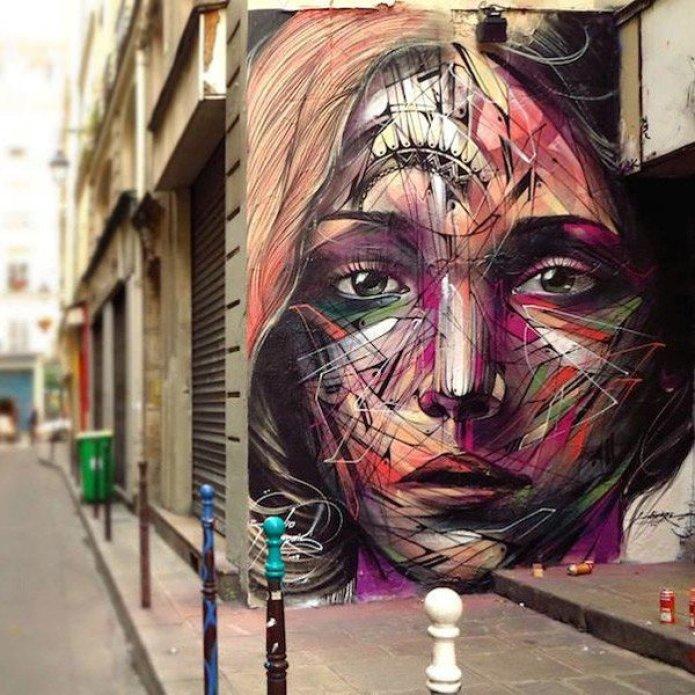 El arte callejero de Hopare 9