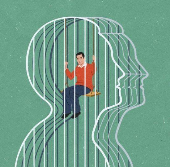 Sociedad actual - Ilustraciones de John Holcroft 10
