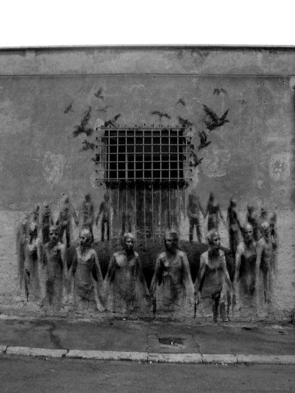 arte callejero de Gonzalo Borondo 10