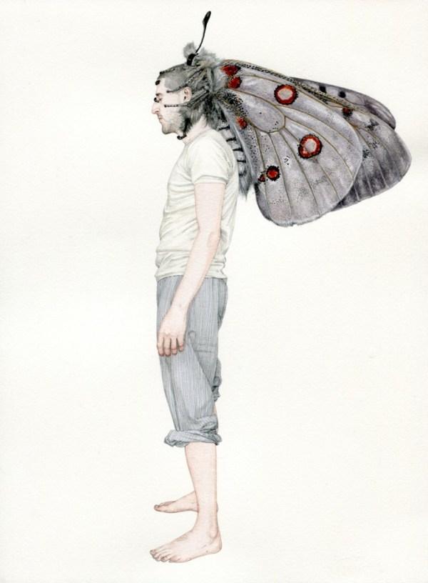 La naturaleza del hombre - Ilustraciones de Fabien Merell 2