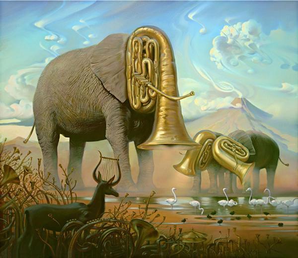 Vladimir Kush pinturas que te hacen pensar 2