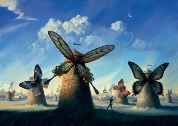 Vladimir Kush pinturas que te harn pensar  Arte Feed