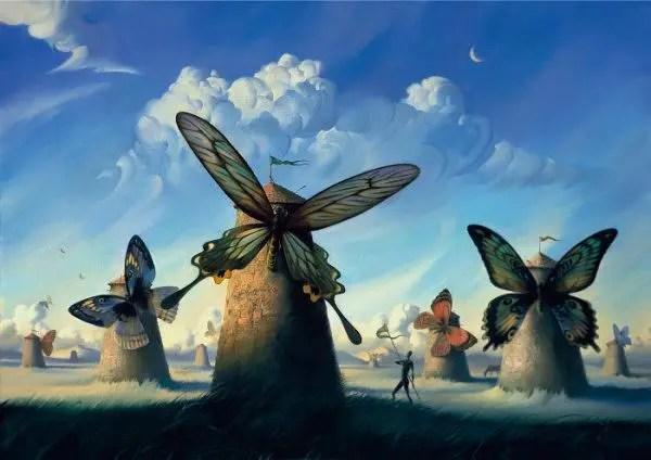 Vladimir Kush pinturas que te hacen pensar 4