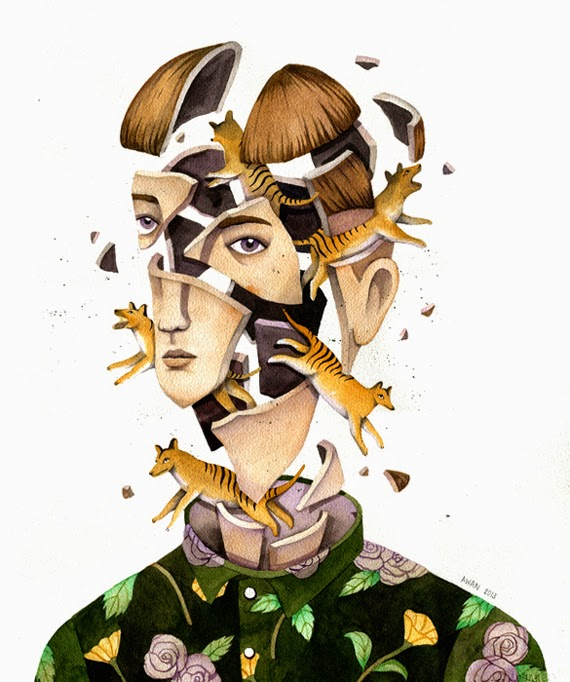 Ilustraciones de Andrea Wan 3