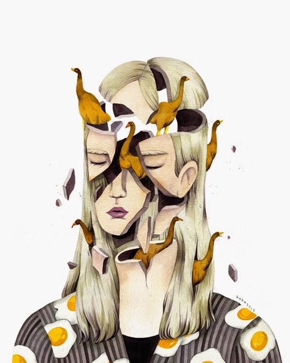 Ilustraciones de Andrea Wan 4
