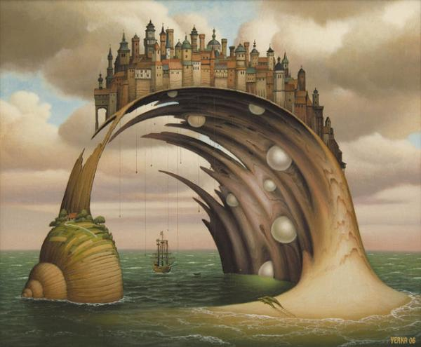 Jacek Yerka pinturas surrealistas 1