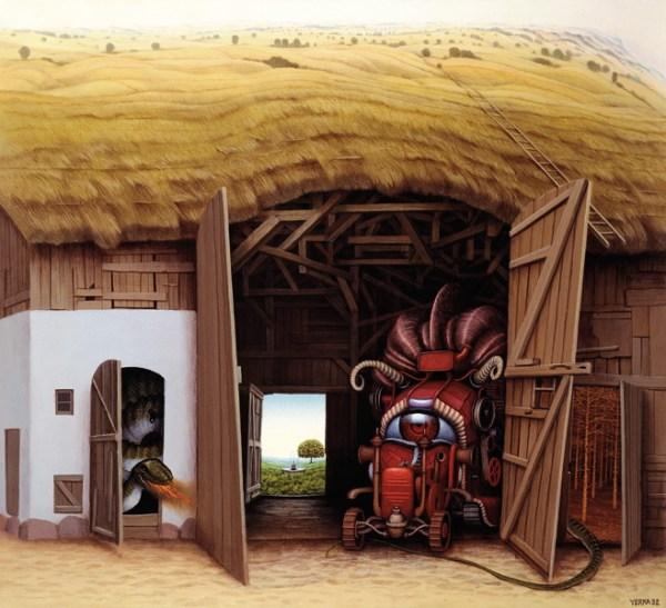 Jacek Yerka pinturas surrealistas 10