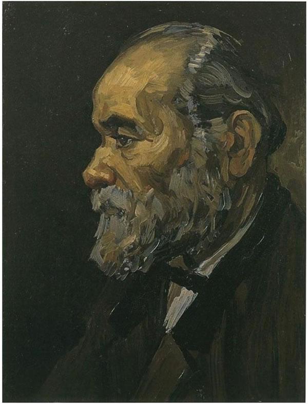 Retrato de un viejo hombre con la barba