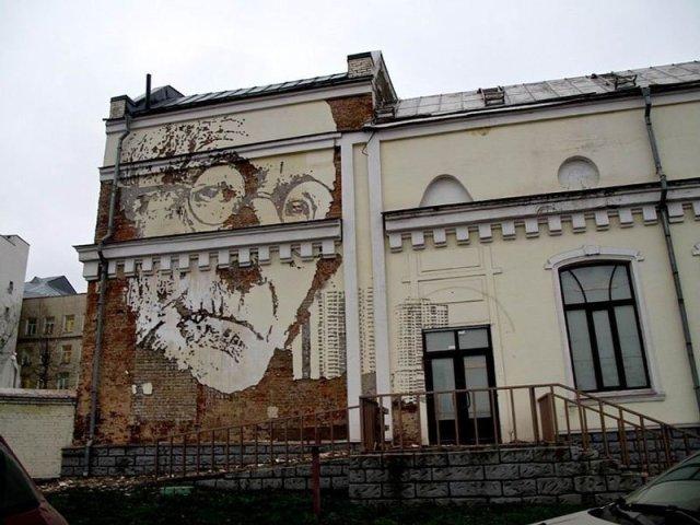 arte callejero Vhils 1