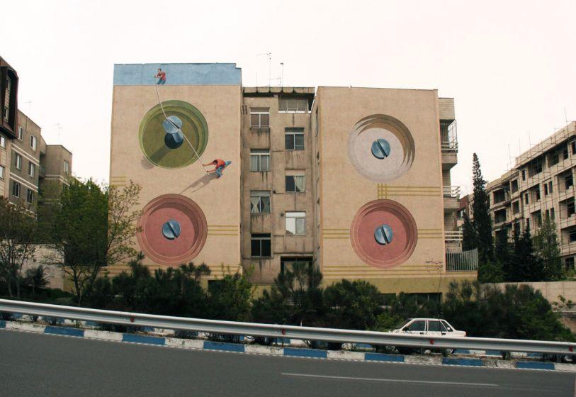 Mehdi Ghadyanloo ARTE CALLEJERO 1