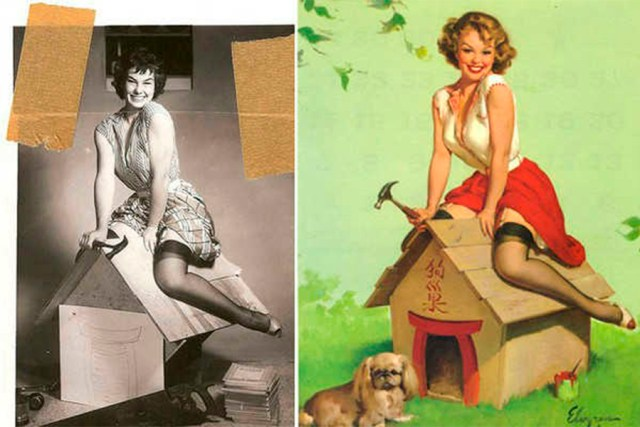 photoshop antiguo pin up 9