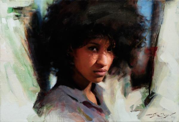 Bellas pinturas realistas de Casey Baugh 9