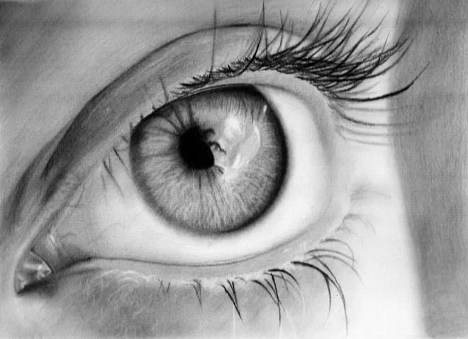dibujos de ojos realistas  14