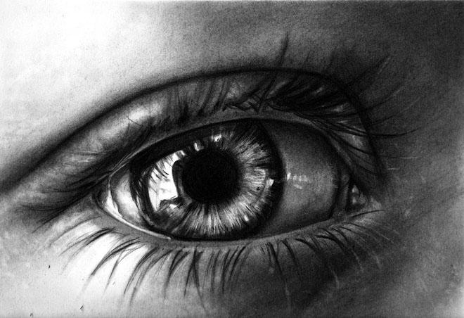 dibujos de ojos realistas  15