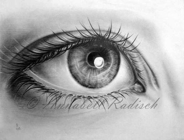 dibujos de ojos realistas  4