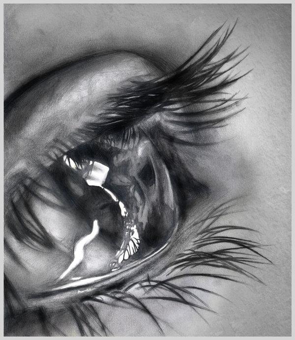 dibujos de ojos realistas  8