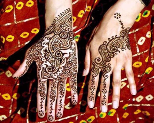 tatuajes henna india tradicional bodas mujeres 10